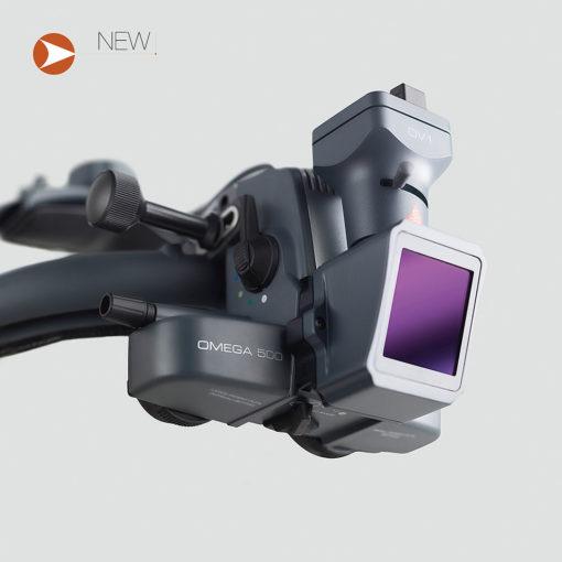 HEINE OMEGA 500 z kamerą