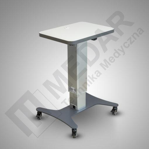 stolik z regulacją wysokości